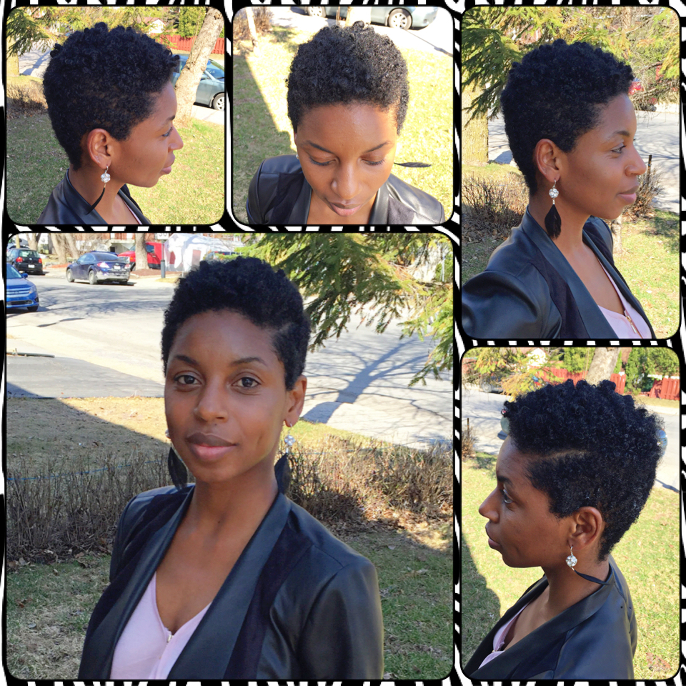 Natural Hair Tapered Cut Featuring Kerma Love Yourself Love Your